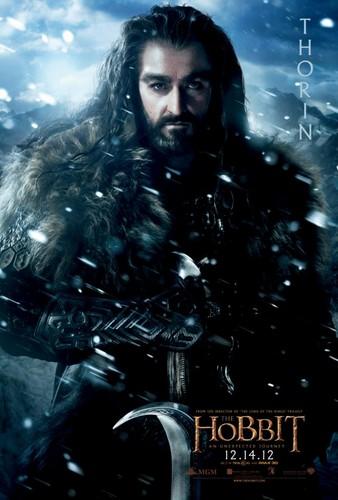 The Hobbit Movie Poster - Thorin