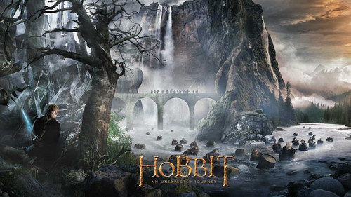 The Hobbit kertas dinding