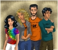 The Jackson Family - the-heroes-of-olympus fan art