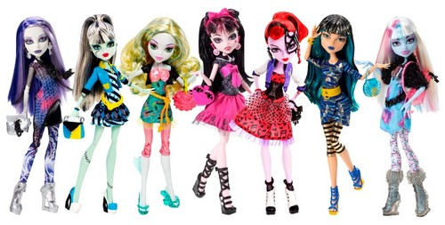 Monster High fond d'écran called The Picture jour Ghouls