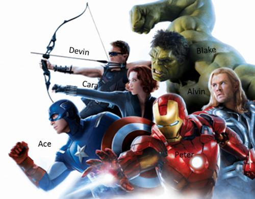 The Pitt- Avengers