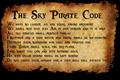 The Sky pirate code - pirate-101 photo