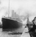 The Titanic Before Sailing - history photo