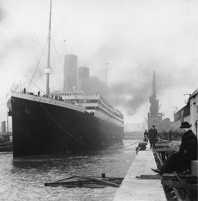 History images The Titanic Before Sailing wallpaper and background photos