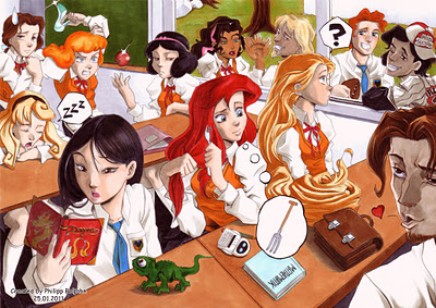 The Disney high school