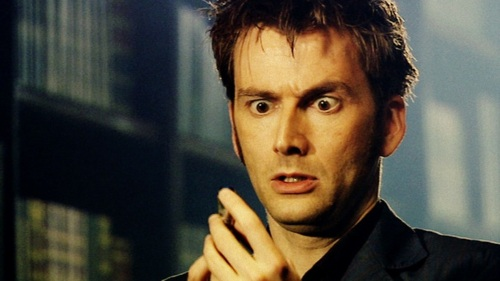 The Tenth Doctor wallpaper probably with a business suit, an athenaeum, and a portrait titled The tenth doctor