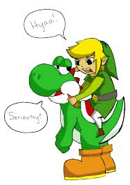 This is What Happens When Link is Yoshi's Partner...