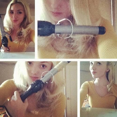 Peyton R. List (Emma Ross) wallpaper entitled This is how I curl my hair spoo follow @fashionloverandadvice ! XOXO