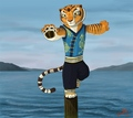 Tigress Blue Vest