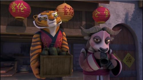 tigress and Xiao Niao