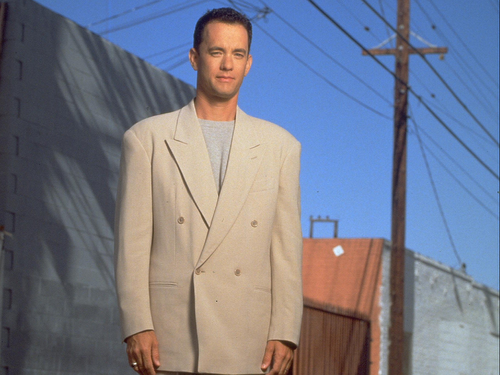 Tom Hanks wallpaper with a business suit, a suit, and a three piece suit entitled Tom Hanks