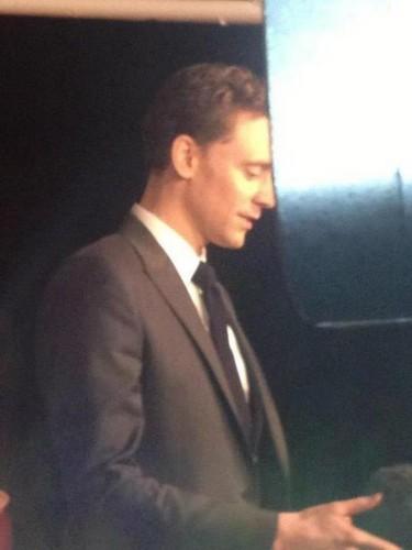 Tom at the BIFA Awards