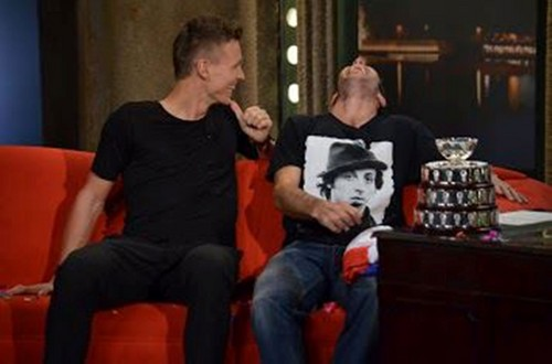 Tomas Radek smile talk show