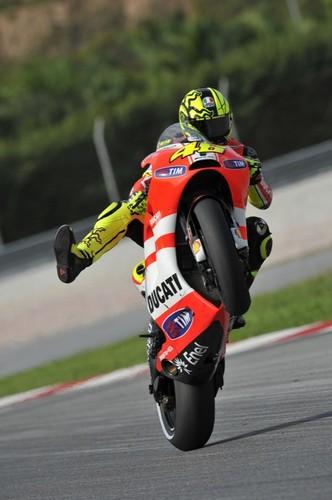 Valentino at Ducati 2011