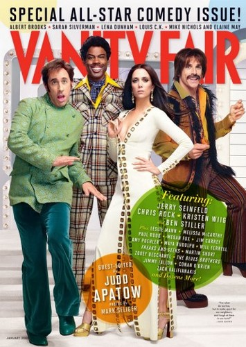 Vanity Fair's First-Ever Comedy Issue Guest-Edited da Judd Apatow