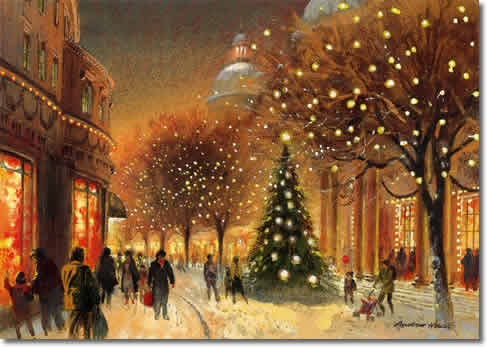 Vintage Christmas Card Christmas Fan Art 33061200 Fanpop