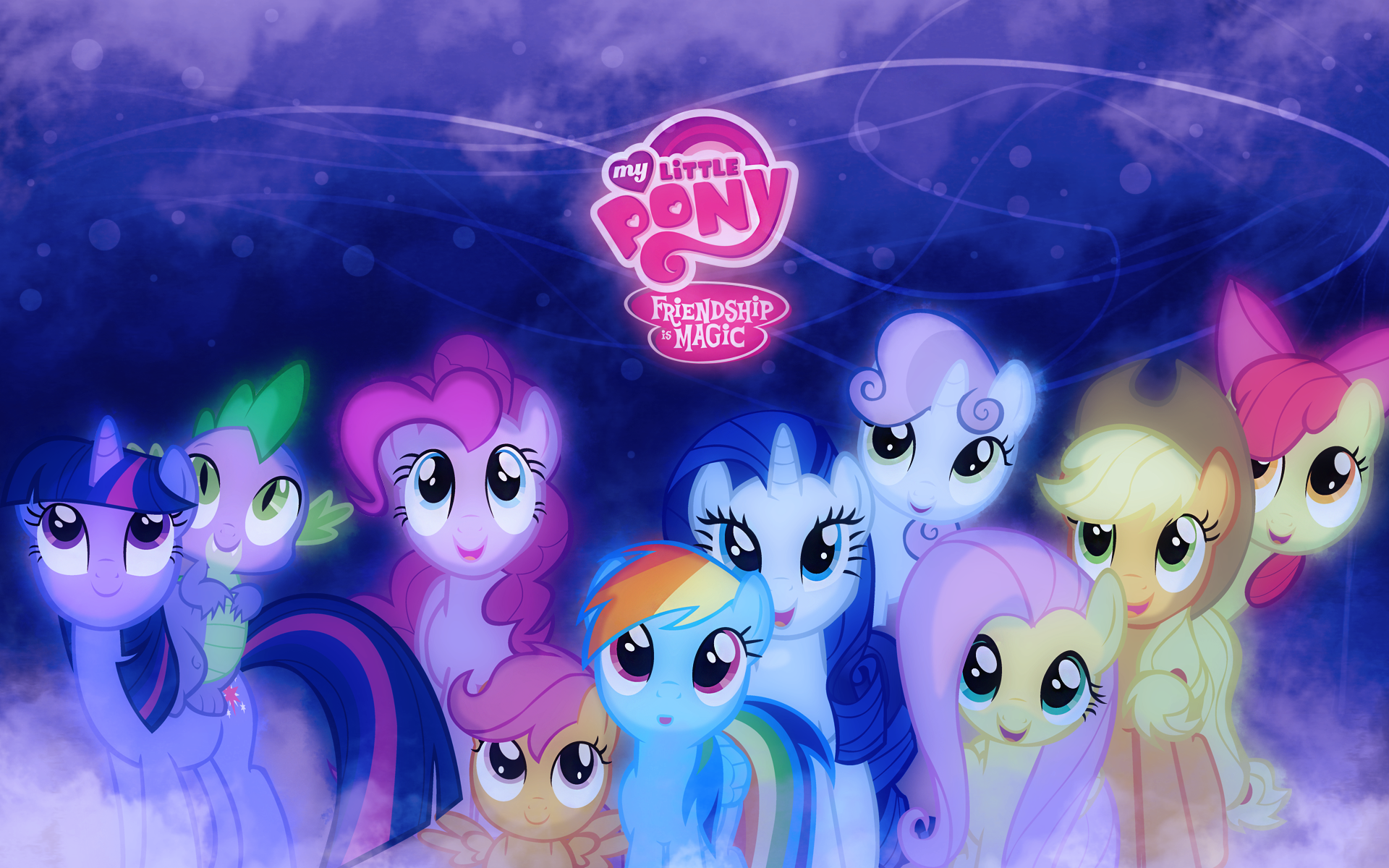 My little pony friendship is magic wallpapers