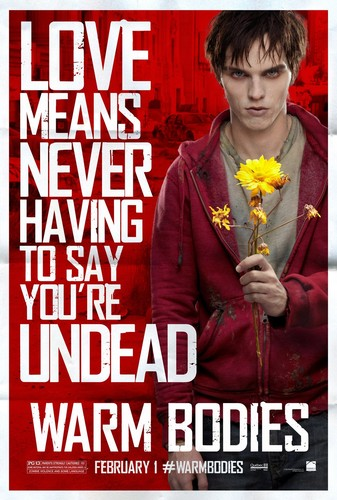 Warm Bodies Movie দেওয়ালপত্র called Warm Bodies Characters Posters