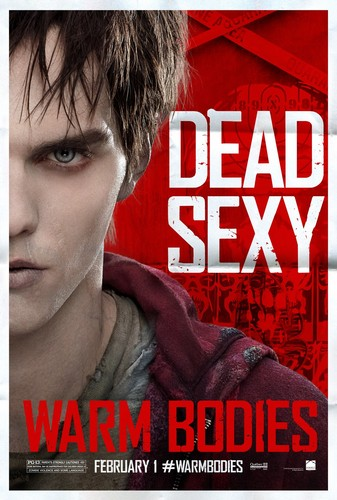 Warm Bodies Movie پیپر وال with a portrait called Warm Bodies Characters Posters