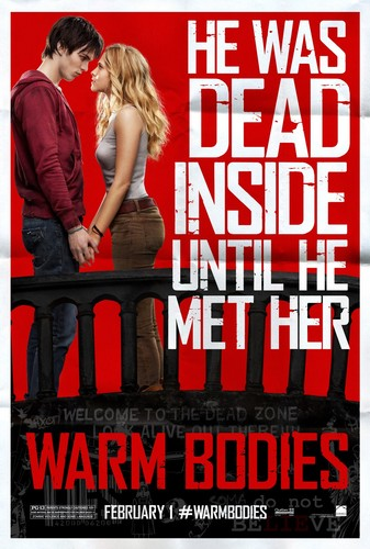 Warm Bodies Movie Hintergrund possibly containing a sign and Anime entitled Warm Bodies Characters Posters