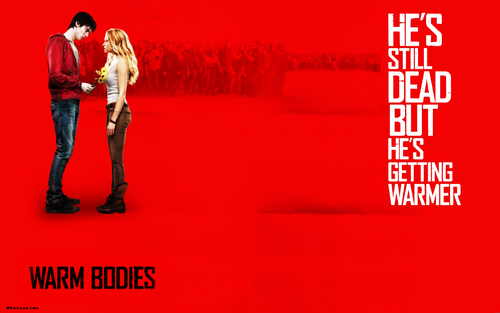 Warm Bodies Movie fond d'écran probably with a hip boot and a sign entitled Warm Bodies Movie fonds d'écran