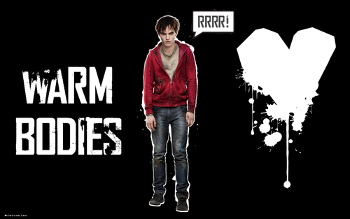 Warm Bodies Movie kertas-kertas dinding