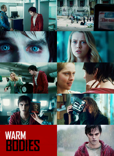 Warm Bodies Movie Обои probably with a newsstand, a sign, and a portrait entitled Warm Bodies