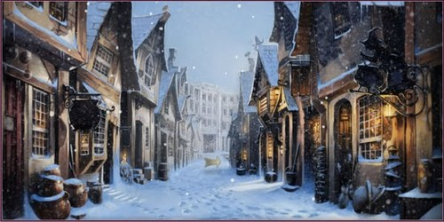 Winter has come to Pottermore...