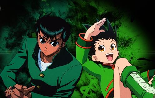 Yusuke Urameshi and Gon Freecss