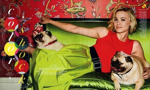 Yvonne Strahovski- O Magazine October 2012