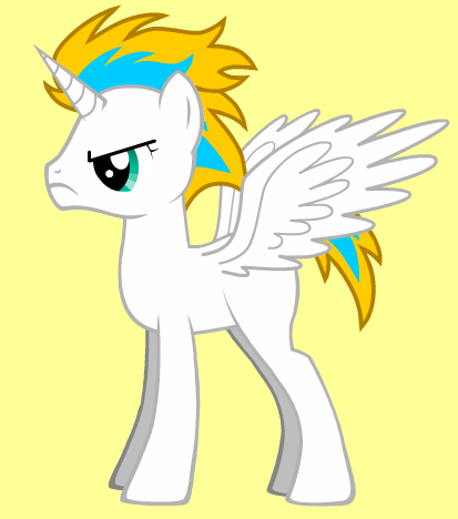 Zeus as a My little pony
