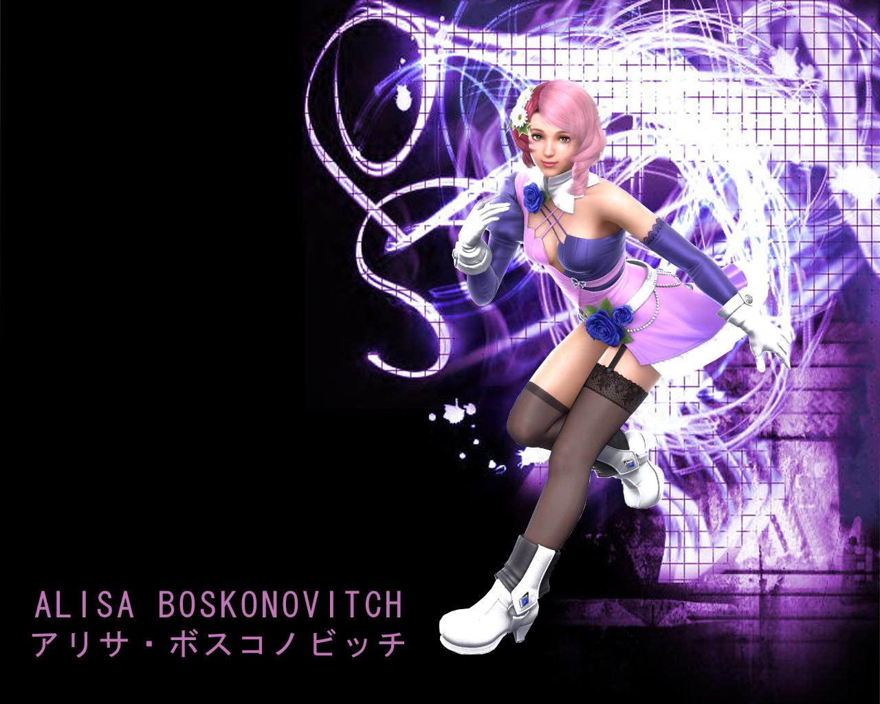 Tekken 6 Alisa