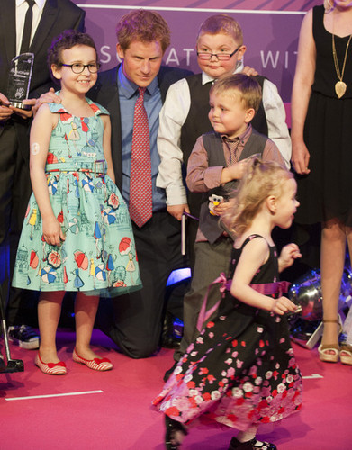 at the WellChild Awards at the Intercontinental Hotel on September 3, 2012 in London, England.