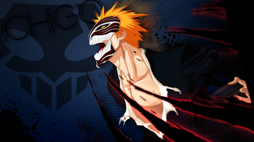 anime bleach wallpaper probably containing anime entitled ichigo