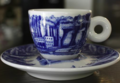blue coffee cup - blue photo