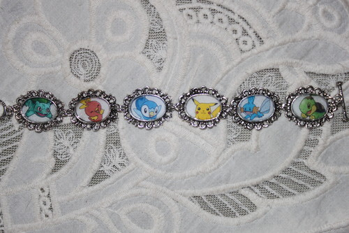 choose your own Pokemon characters bracelet