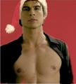damon hot potoshop feliz navidad - damon-salvatore photo