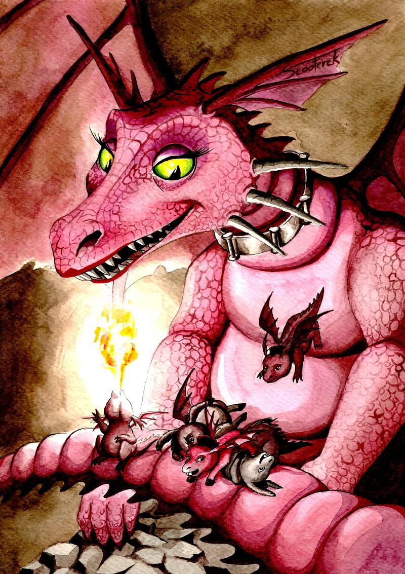 Dragon And Her Dronkeys Dragon Fan Art 33040076 Fanpop