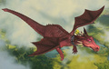 dragon flys - dragon photo