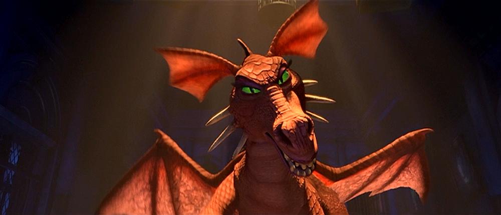 dragon glares