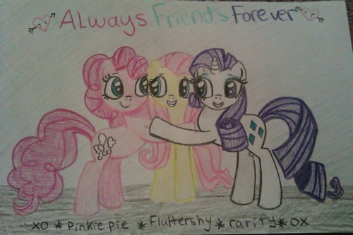 friends forver MLP