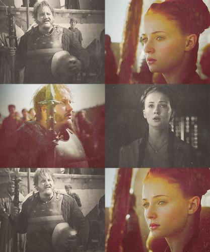 Sansa Stark & Dontos Hollard