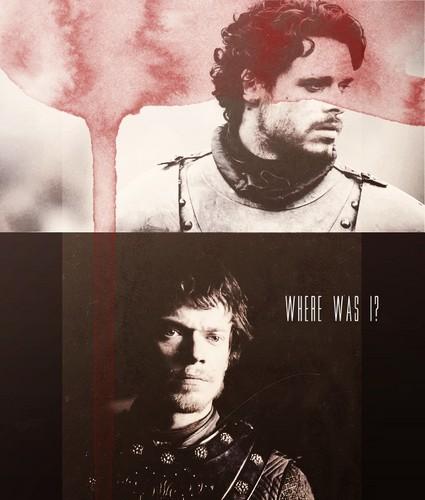 Robb & Theon