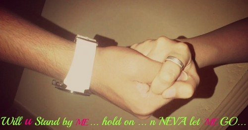 hold on n neva let me go!!