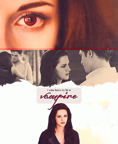 i was born to be a vampire<3