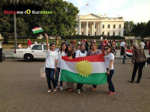 kurdish girl in u.s.a