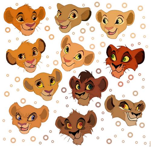 lion king cubs