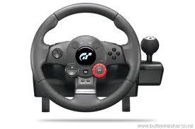 logitech raceing wheel
