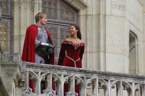 my favorit BTS of Bradley James and malaikat Coulby