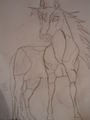 my thunder and lighting drawing - spirit-stallion-of-the-cimarron fan art